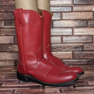 Justin Boots Bernice in Red - Women's 5.5